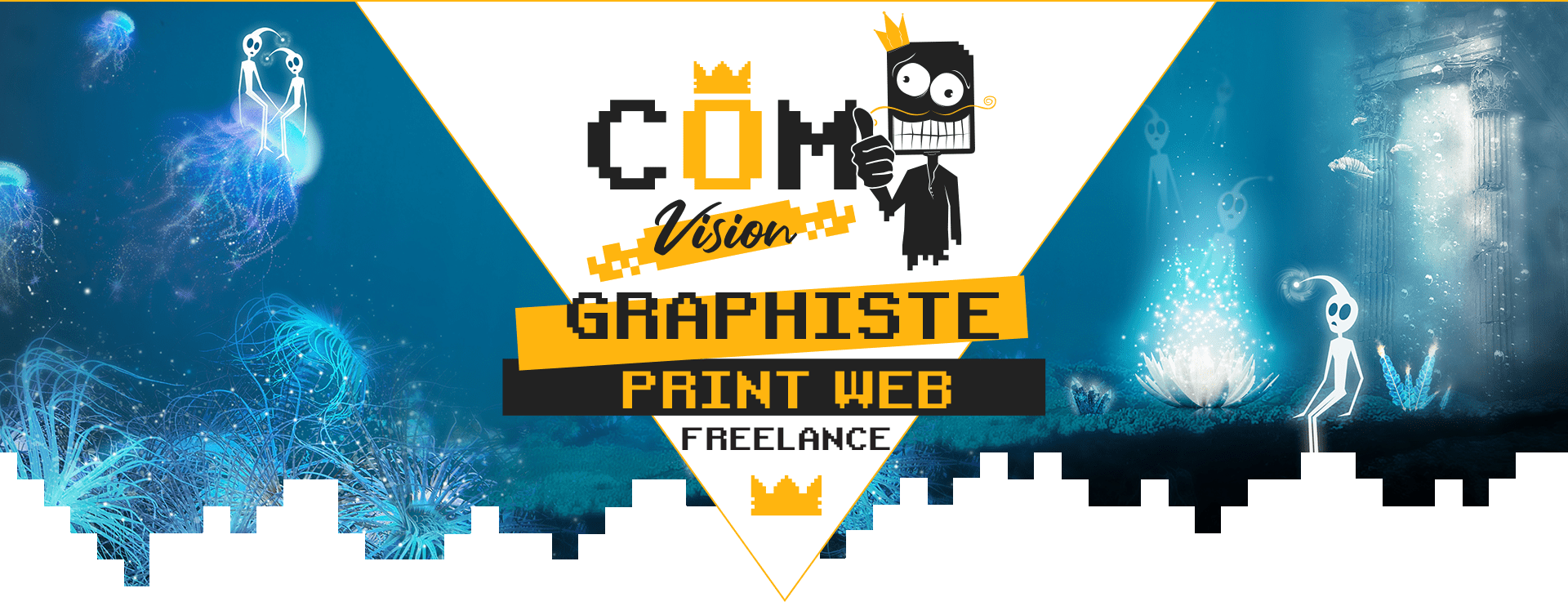 com1vision graphiste print web