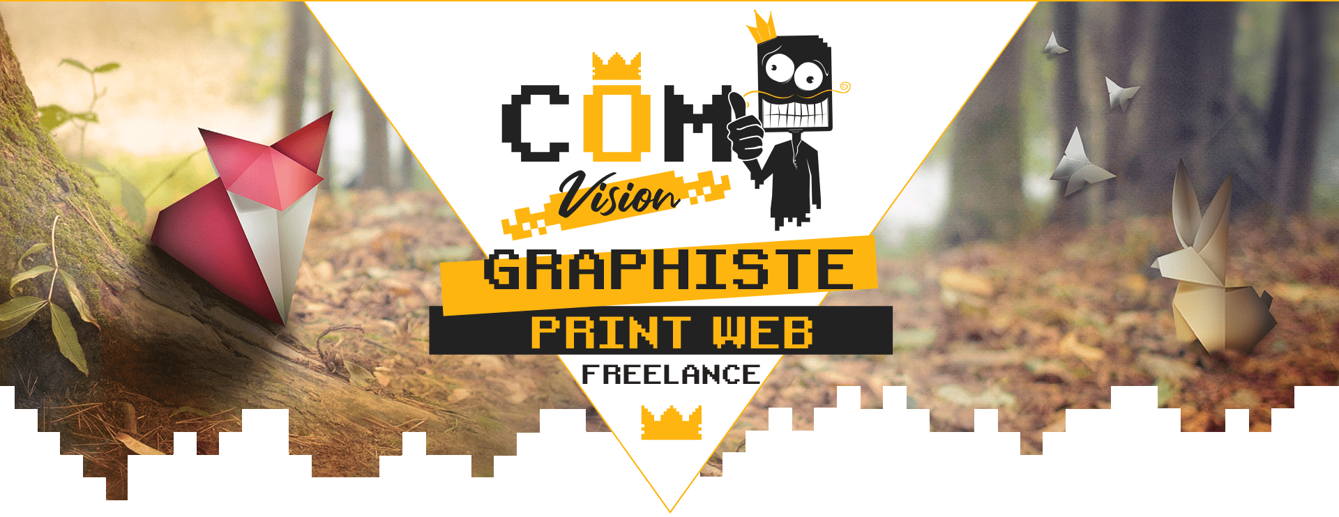 Graphiste Webdesigner indépendant logo affiche dépliant la Rochelle Niort Cholet La Roche sur Yon