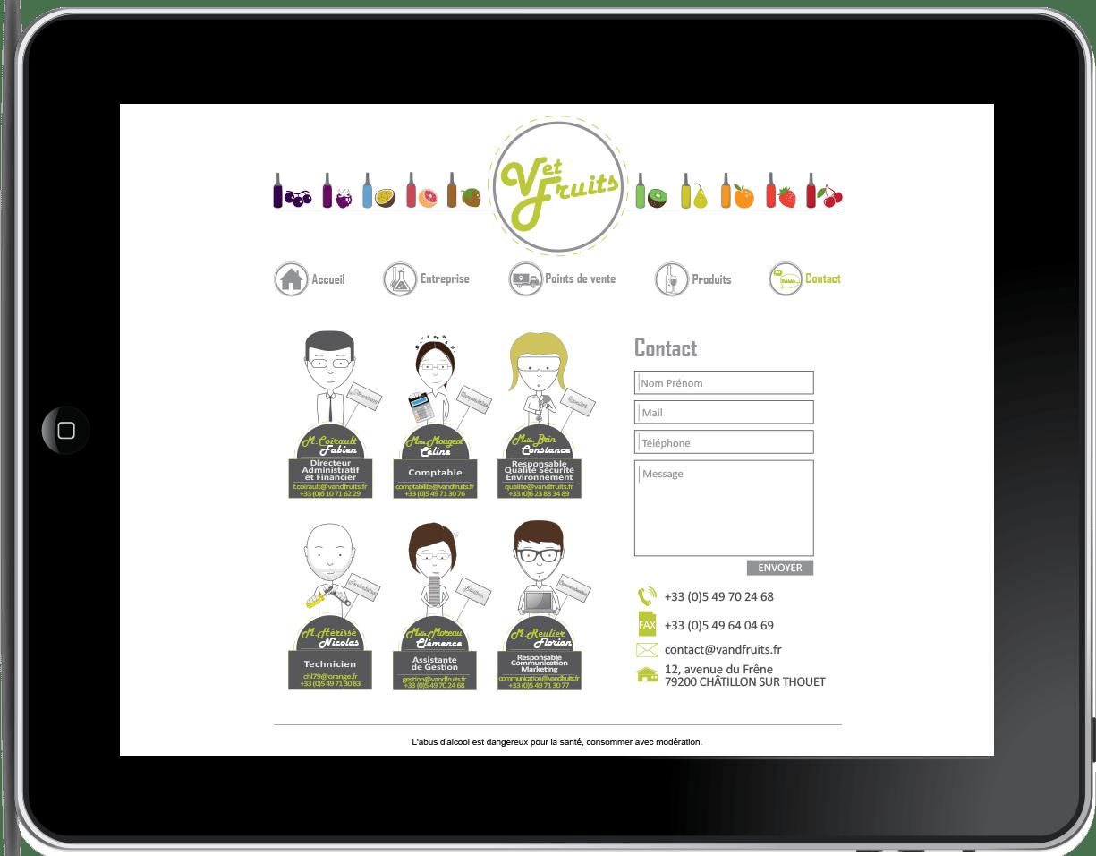 Site web graphiste niort parthenay