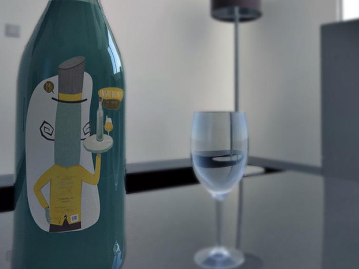 illustration alcool concombre vin graphisme com1vision niort la rochelle nantes