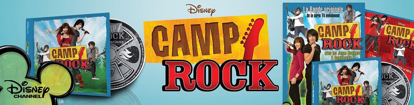 camp rock graphisme com1vision disney affiche cd la rochelle niort paris