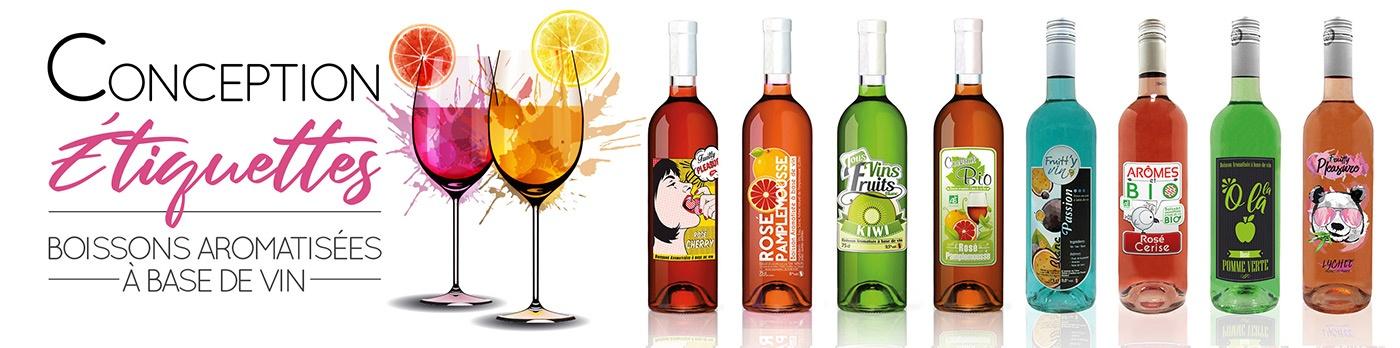 vin fruits etiquettes com1vision graphisme niort parthenay la rochelle cholet