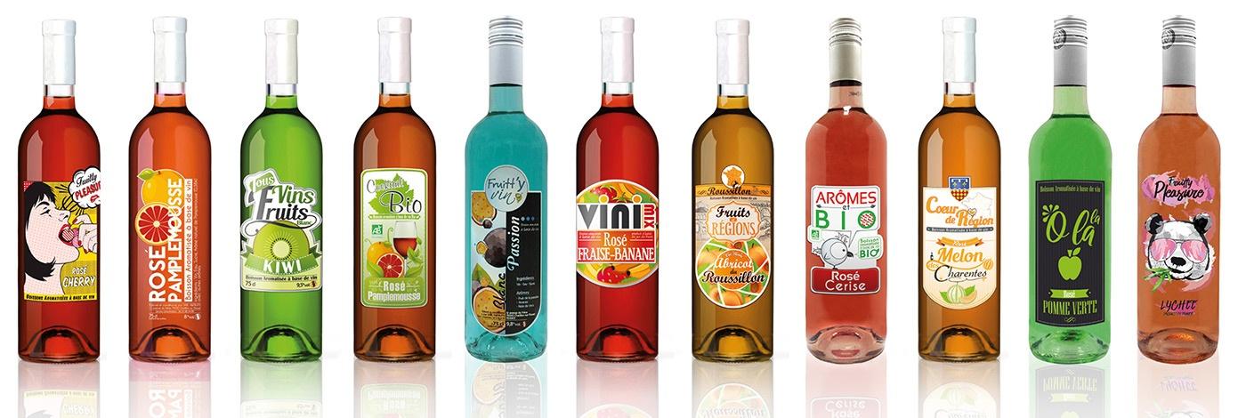 vin fruité etiquettes com1vision graphisme niort parthenay la rochelle cholet