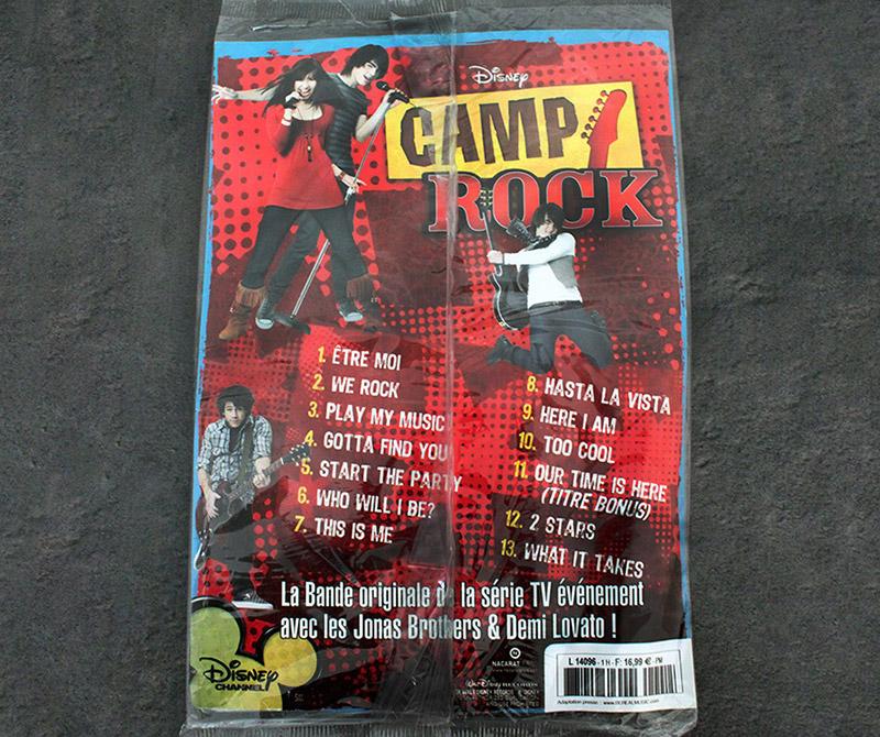 camp rock graphisme com1vision disney affiche cd la rochelle paris
