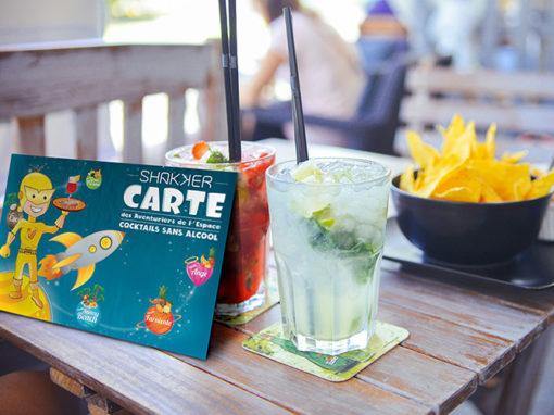 Carte cocktails