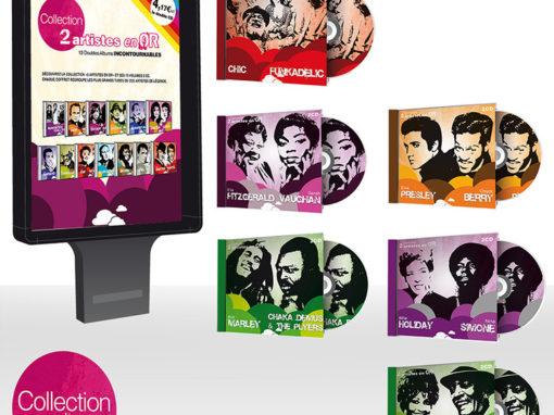 Création jaquettes cd