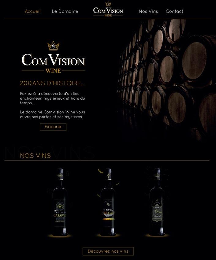 com1vision wine accueil internet la rochelle niort