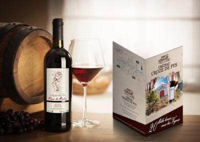 Dépliant vin de Cahors