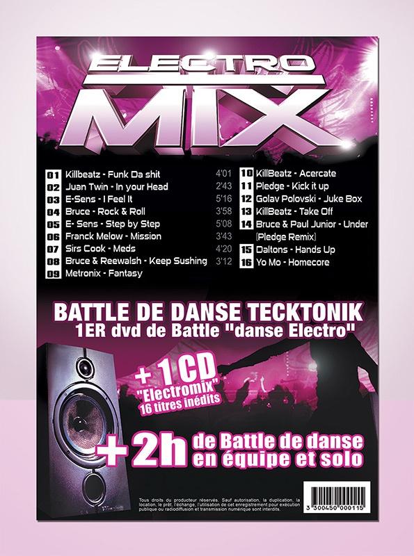 electro mix graphisme com1vision cd music la rochelle niort cholet