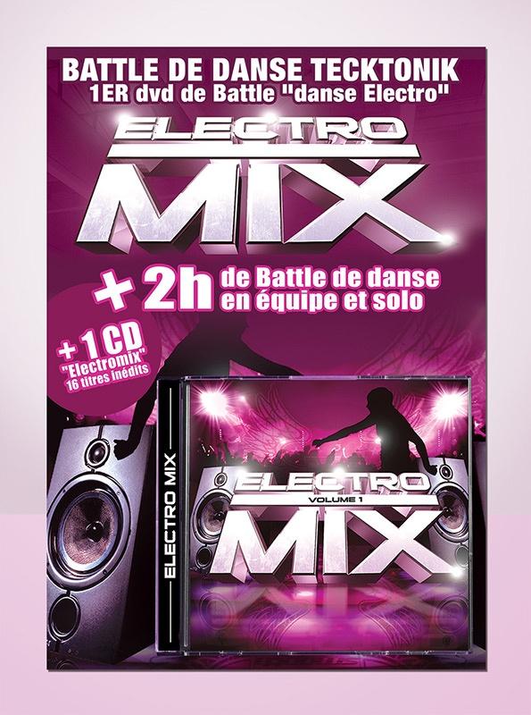electro mix graphisme com1vision cd music la rochelle niort nantes