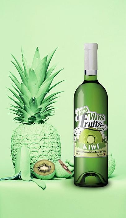 boisson aromatisée etiquettes graphisme vin blanc niort parthenay la rochelle cholet