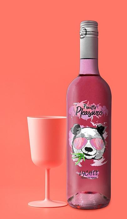 boisson aromatisée etiquettes vin rosé graphisme niort parthenay la rochelle cholet