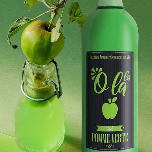 boisson aromatisée etiquettes graphisme niort parthenay cholet