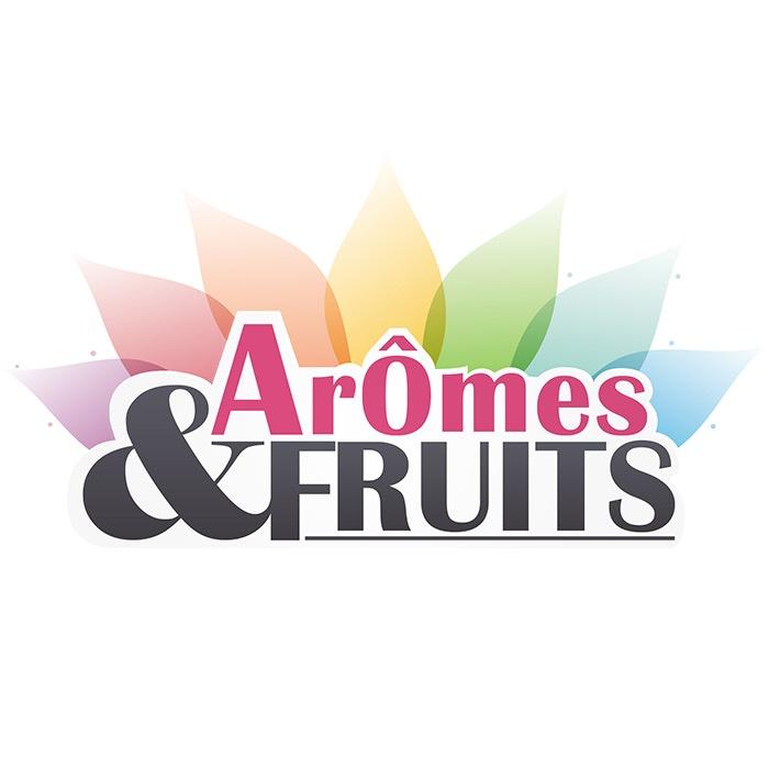 logo marque arome et fruits graphisme com1vision
