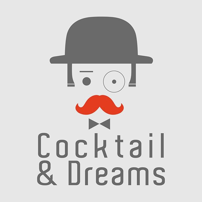 logo marque cocktail and dreams graphisme com1vision