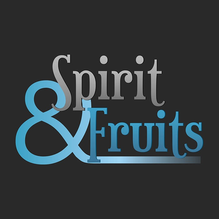 logo marque spirit et fruits graphisme com1vision