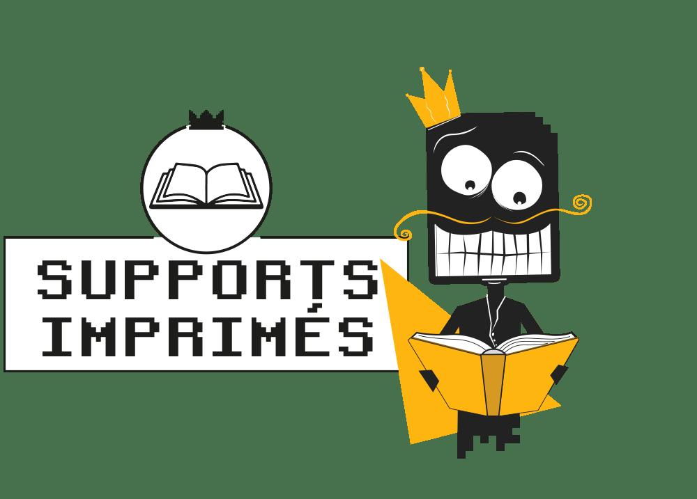 support imprimes affiche depliant catalogue graphiste la rochelle niort