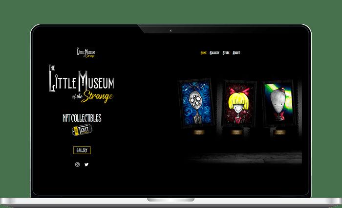 site internet strange com1vision web graphisme